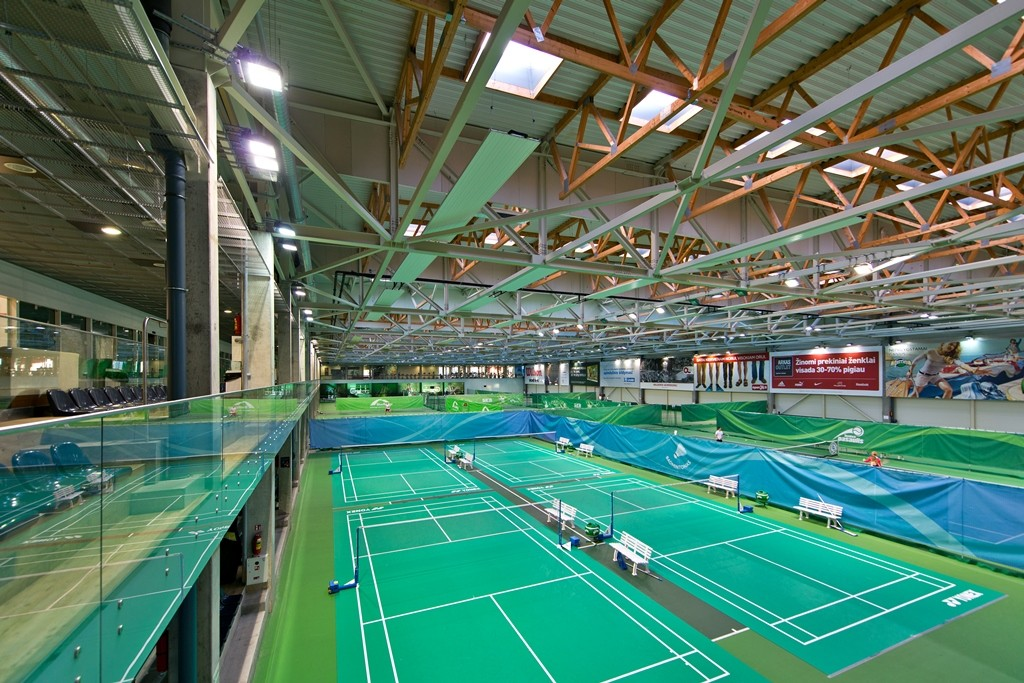 About Badminton Courts Seb Arena